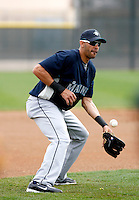 Mike Morse -  Seattle Mariners - 2009 spring training.Photo by:  Bill Mitchell/Four Seam Images