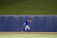 AZL Cubs center fielder Jose Gutierrez (91) on defense against the AZL Brewers on August 24, 2017 at Maryvale Baseball Park in Phoenix, Arizona. AZL Cubs defeated the AZL Brewers 9-1. (Zachary Lucy/Four Seam Images)