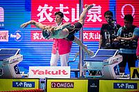 Dressel Caeleb of USA react in men's 100m freestyle final during 18th Fina World Championships Gwangju 2019 at Nambu University Municipal Aquatics Centre, Gwangju, on 26  July 2019, Korea.  Photo by : Ike LI / Prezz Images