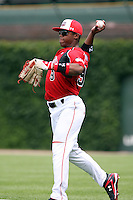 August 18 2008:  Braxton Lane (9) of the Team One team during the 2008 Under Armour All-American Game at Wrigley Field in Chicago, IL.  Photo by:  Mike Janes/Four Seam Images