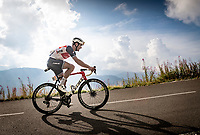 Jasper Stuyven (BEL/Trek-Segafredo) up the finish climb & the highest peak of the 2020 #TdF: the Col de la Loze (HC/2304m/21,5km @7,8%)<br /> <br /> Stage 17 from Grenoble to Méribel - Col de la Loze (170km)<br /> <br /> 107th Tour de France 2020 (2.UWT)<br /> (the 'postponed edition' held in september)<br /> <br /> ©kramon