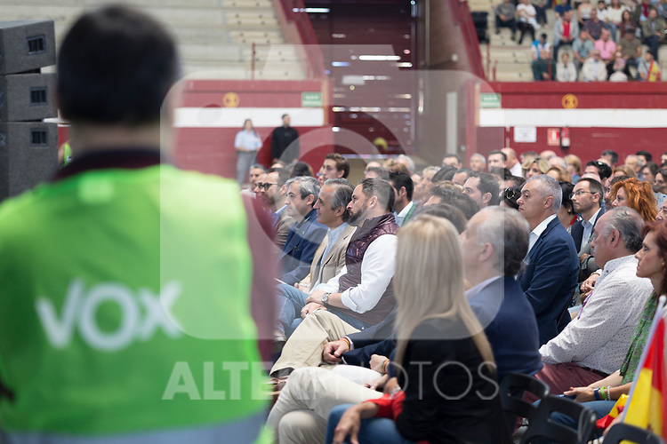 Vox´s leader Santiago Abascal during a meeting with party supporters. October 13,2019. (ALTERPHOTOS/IVAN TOME)