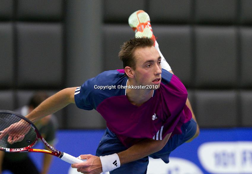 17-12-10, Tennis, Rotterdam, Reaal Tennis Masters 2010,    Thomas Schoorel