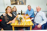 Catherine Grace, Dorothy and Jack O'Driscoll and Des Grace enjoying the evening in Sforno on Friday.