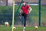St Johnstone Training…. 09.12.20<br />Zander Clark pictured during training ahead of Saturdays home game against Livingston.<br />Picture by Graeme Hart.<br />Copyright Perthshire Picture Agency<br />Tel: 01738 623350  Mobile: 07990 594431
