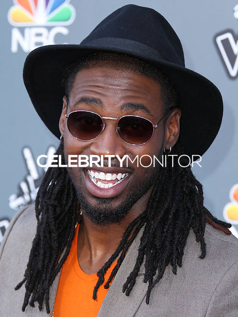 """UNIVERSAL CITY, CA, USA - APRIL 15: Delvin Choice at NBC's """"The Voice"""" Season 6 Top 12 Red Carpet Event held at Universal CityWalk on April 15, 2014 in Universal City, California, United States. (Photo by Xavier Collin/Celebrity Monitor)"""