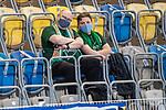 12.09.2020, Ernst-Abbe-Sportfeld, Jena, GER, DFB-Pokal, 1. Runde, FC Carl Zeiss Jena vs SV Werder Bremen<br /> <br /> Gaestefans Aus Bremen /( Brake in Jena  Jan und Claus <br /> <br /> <br />  <br /> <br /> <br /> Foto © nordphoto / Kokenge