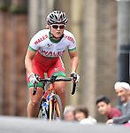 Wales' Katie Curtis tackles the climb up Montrose Street, Glasgow<br /> <br /> Photographer Chris Vaughan/Sportingwales<br /> <br /> 20th Commonwealth Games - Day 11 - Sunday 3rd August 2014 - Cycling - Road Race - Glasgow - UK