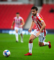 21st November 2020; Bet365 Stadium, Stoke, Staffordshire, England; English Football League Championship Football, Stoke City versus Huddersfield Town; Morgan Fox of Stoke City