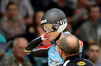 Australia's Anna Meares at the 2014 Oceania Track Championships, Sit Zero Fees Velodrome, Invercargill, New Zealand, Friday, November 22, 2013. Photo: Dianne Manson / NINZ