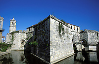 Castillo de La Real Fuerza, the oldest extant colonial fortress in the Americas
