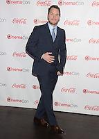 LAS VEGAS, NV - March 27: Breakthrough Performer of the Year Award winner Chris Pratt at the CinemaCon Big Screen Achievement Awards on March 27, 2014 in Las Vegas, Nevada. © Kabik/ Starlitepics