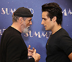 """Bruce Sudano and Jared Zirilli attends the Meet & Greet for """"Summer: The Donna Summer Musical"""" on March 8, 2018 at the New 42nd Street Studios,  in New York City."""