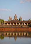 Angkor Wat Refection, Cambodia - Main Site