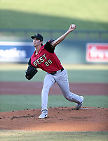 Daniel Lynch plays in the annual Arizona Fall League Fall Stars Game at Salt River Fields on October, 12, 2019 in Scottsdale, Arizona (Bill Mitchell)