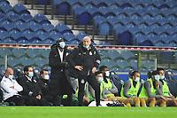 13th February 2021; Dragao Stadium, Porto, Portugal; Portuguese Championship football, FC Porto versus Boa Vista; Boa Vista manager Jesualdo Ferreira wacthes play