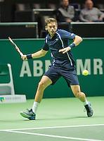 Rotterdam, The Netherlands, Februari 8, 2016,  ABNAMROWTT, Nicolas Mahut (FRA)<br /> Photo: Tennisimages/Henk Koster
