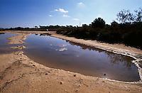 Spanien, Mallorca, in den Salinen Salines de Llevant