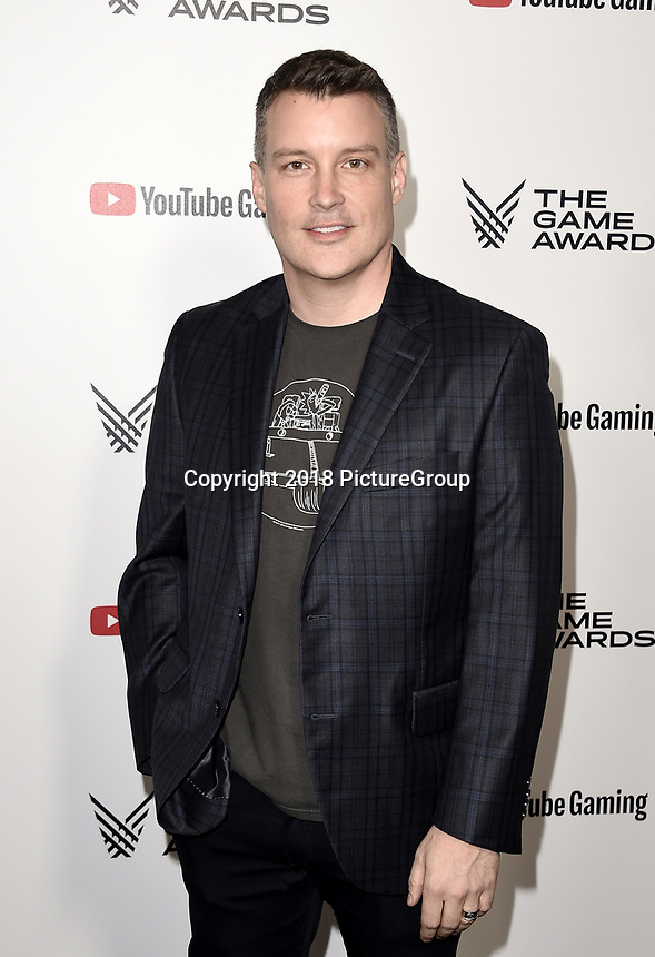 LOS ANGELES - DECEMBER 6: Josh Holmes attends the 2018 Game Awards at the Microsoft Theater on December 6, 2018 in Los Angeles, California. (Photo by Scott Kirkland/PictureGroup)