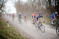 reigning Tour de France champion Geraint Thomas (GBR/SKY) over the gravel roads of Tuscany<br /> <br /> 13th Strade Bianche 2019 (1.UWT)<br /> One day race from Siena to Siena (184km)<br /> <br /> ©kramon