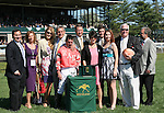 10 April 2010. Together Indy and Kent Desormeaux win the 24th running of the Commonwealth (GRII).