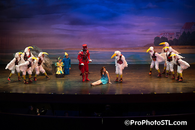 The Little Mermaid presented by Variety - Children's Charity St. Louis at Touhill at University of Missouri - St. Louis on Oct 23, 2014.