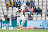 Ravichandran Ashwin, India drives down the ground during India vs New Zealand, ICC World Test Championship Final Cricket at The Hampshire Bowl on 20th June 2021