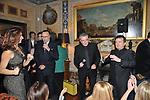 PIPPO BAUDO SI ESIBISCE CON TONY SANTAGATA E PUPO<br /> FESTA DEGLI 80 ANNI DI MARTA MARZOTTO<br /> CASA CARRARO ROMA 2011