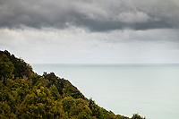 Clouds above the Tasman Sea in Okarito - Westland National Park, West Coast, New Zealand