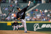 May 19, 2010: Toronto Blue Jays pitcher Brett Cecil (27) during a game against the Seattle Mariners at Safeco Field in Seattle, Washington.
