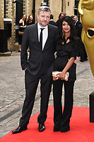 Charlie Brooker and Konnie Huq<br /> at the BAFTA Craft Awards 2019, The Brewery, London<br /> <br /> ©Ash Knotek  D3497  28/04/2019