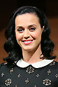 """Singer Katy Perry attends a press conference for her new album """"PRISM """" in Tokyo"""