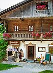 Oesterreich, Kaernten, Lesachtal, Maria Luggau: Lesachtaler Bauernladen | Austria, Carinthia, Lesach Valley, Maria Luggau: farmer's shop