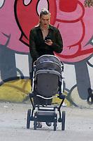 NEW YORK, NY- JJUNE 10: Karlie Kloss seen walking baby Levi in Soho in New York City on  June 10, 2021. Credit: RW/MediaPunch