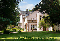 BNPS.co.uk (01202) 558833<br /> Pic: KnightFrank/BNPS<br /> <br /> A breath-taking coastal estate with its own private island is on the market for offers over £1.95m.<br /> <br /> The Castleton Estate includes a listed nine-bedroom home with a swimming pool, but its real selling point is a 23-acre wooded island where the new owner could build their dream home.<br /> <br /> The 67-acre estate is on the northern shores of the beautiful Loch Fyne on the west coast of Scotland and includes the island of Eilean Mor.<br /> <br /> The island, which can be reached by foot at low tide or by a short boat ride from the slipway at high tide, is being sold with planning permission in place to build a one-bedroom home with views towards Arran and the Kintyre Peninsula.