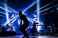 Machine Gun Kelly performs at the Festival d'ete de Quebec (Quebec Summer Festival) on July 12, 2018. THE CANADIAN PRESS IMAGES/Francis Vachon