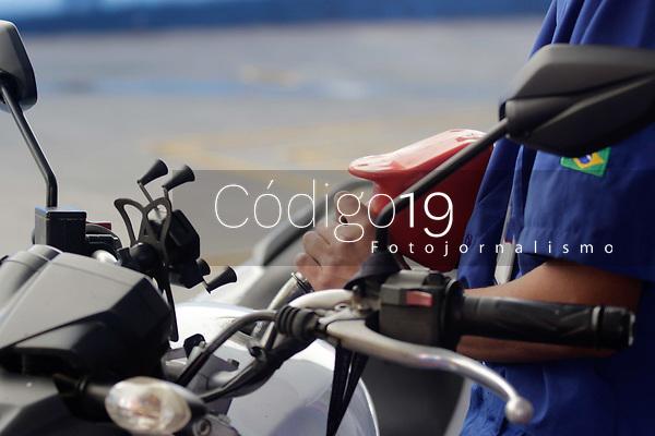 Campinas (SP), 03/09/2021 - Combustivel - Movimentação em posto de combustivel, no centro da cidade de Campinas (SP), nesta sexta-feira (3).