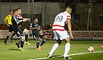 Tony Andreu scores the second goal for Hamilton