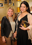 Maria Kinzy and Jess Ross at a special evening in honor of Alley Theatre's Wild Things at the Louis Vuitton store in The Galleria Wednesday Sept. 30,2015.(Dave Rossman photo)