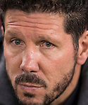 Coach Diego Simeone of Atletico de Madrid prior to the La Liga match between Atletico de Madrid and RCD Espanyol at the Vicente Calderón Stadium on 03 November 2016 in Madrid, Spain. Photo by Diego Gonzalez Souto / Power Sport Images