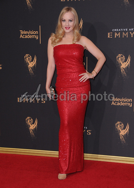 10 September  2017 - Los Angeles, California - Wendi McLendon-Covey. 2017 Creative Arts Emmys - Arrivals held at Microsoft Theatre L.A. Live in Los Angeles. Photo Credit: Birdie Thompson/AdMedia