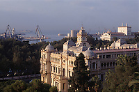 Spanien, Andalusien, Rathaus in Malaga
