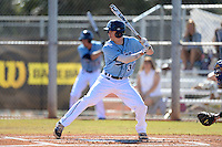 Maine Black Bears infielder Troy Black (30) at bat during a game against the South Dakota State JackRabbits at South County Regional Park on March 9, 2014 in Port Charlotte, Florida.  Maine defeated South Dakota 5-4.  (Mike Janes/Four Seam Images)