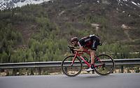 Joey Rosskopf (USA/BMC) speeding along<br /> <br /> Stage 17: Tirano › Canaze (219km)<br /> 100th Giro d'Italia 2017