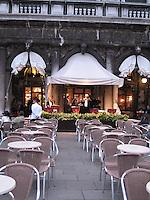 ITALY--VENICE--St. Mark's Cafes