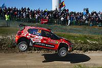 23rd May 2021; Felgueiras, Porto, Portugal; WRC Rally of Portugal, stages SS16-SS20;  Nicolas Ciamin-Citroen C3 WRC2