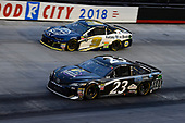 #23: Blake Jones, BK Racing, Toyota Camry Tennessee XXX Moonshine and #9: Chase Elliott, Hendrick Motorsports, Chevrolet Camaro Kelley Blue Book