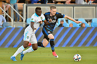 San Jose, CA - Wednesday June 28, 2017: Kip Colvey during a U.S. Open Cup Round of 16 match between the San Jose Earthquakes and the Seattle Sounders FC at Avaya Stadium.
