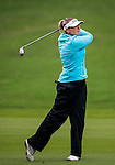 Ashlee Dewhurst of Australia  plays a shot during the Hyundai China Ladies Open 2014 on December 12 2014 at Mission Hills Shenzhen, in Shenzhen, China. Photo by Li Man Yuen / Power Sport Images