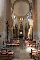 France, Corrèze (19), Saint-Robert, classé Plus Beaux Villages de France, l'église // France, Correze, Saint Robert, labelled Les Plus Beaux Villages de France (The Most beautiful<br /> Villages of France), the church